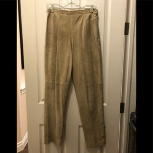 Josephine Chaus Suede Pants